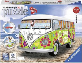 Ravensburger Volkswagen T1 - Hippie Style 3D Puzzle 12532