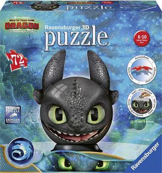 Ravensburger puzzleball® Dragons 3 Ohnezahn mit Ohren