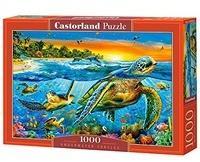 Castorland Underwater Turtles 1000 pcs 1000 Stück(e)