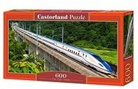 Castorland The Fast Train 600 pcs 600 Stück(e)