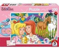 Schmidt Spiele Bibi & Tina, Pferdeglück (Kinderpuzzle)