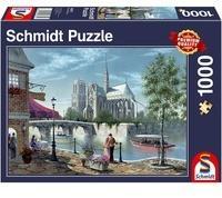 Schmidt Spiele 1000 Teile Schmidt Spiele Puzzle Notre-Dame de Paris