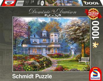 Schmidt Spiele Puzzle Dominic Davison Viktorianisches Anwesen