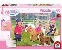 Schmidt Spiele Puzzle Baby born: Auf dem Ponyhof