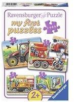 Ravensburger my first puzzles Bei der Arbeit