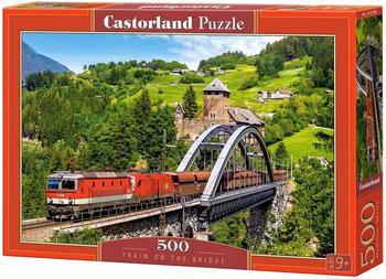 Castorland Train on the Bridge, 500 Teile