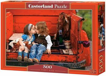Castorland B-52523 Puzzle First Kiss, 500 Teile