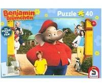 Schmidt Spiele Benjamin Blümchen, Puzzle zum Kinofilm, Motiv 2 (Kinderpuzzle)