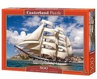 Castorland Tall Ship Leaving Harbour 500 Tei