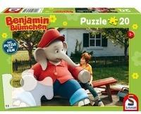 Schmidt Spiele 40 Teile Schmidt Spiele Kinder Puzzle Benjamin Blümchen Kinofilm Motiv 1 56275