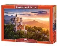 Castorland View of the Neuschwanstein Castle, Germany Puzzlespiel 500
