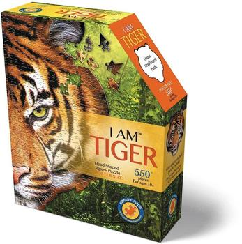 Carletto Shape Puzzle Tiger 550 Teile