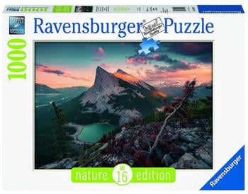 Ravensburger Abends in den Rocky Mountains