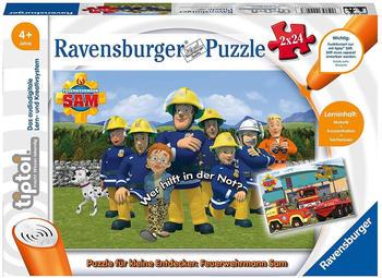 Ravensburger tiptoi - Puzzle für kleine Entdecker: Feuerwehrmann Sam