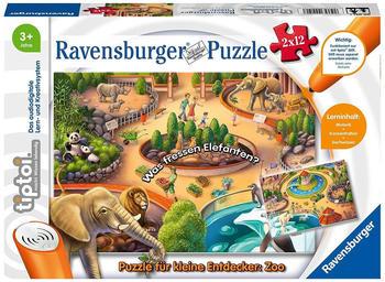 Ravensburger tiptoi - Puzzle für kleine Entdecker: Zoo