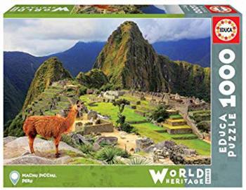 Educa Borrás 1000 Machu Picchu, Perú