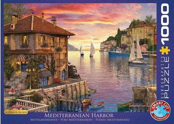 Eurographics Puzzles Dominic Davison - Mediterranean Harbor 1000 Teile Puzzle (6000-0962)