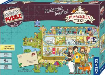 Kosmos Story Puzzle: Die Schule der magischen Tiere - Fürchterlich feierlich!