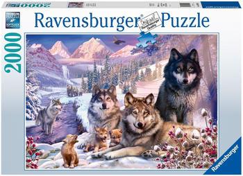 Ravensburger Wölfe im Schnee (2000 Teile)
