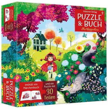 Usborne Puzzle & Buch - Rotkäppchen (30 Teile)
