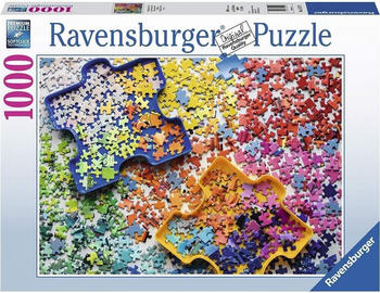 Ravensburger Viele bunte Puzzleteile 1000 Teile