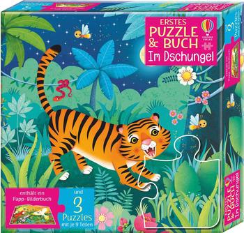 Usborne Erstes Puzzle&Buch: Im Dschungel