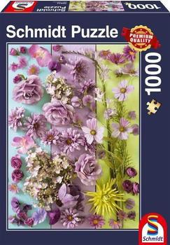 Schmidt-Spiele Violette Blüten (1000 Teile)