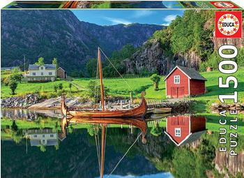 Educa Borrás Viking Ship 1500 pcs. (18006)