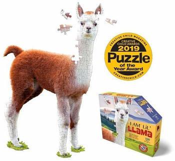 Madd Gapp Games Shape Puzzle Junior Lama 100 Teile (884011)