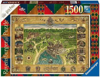 Ravensburger Hogwarts Karte (1500 Teile)