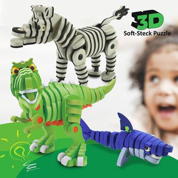 Jamara 3D Soft-Steck Puzzle Dino (460845)
