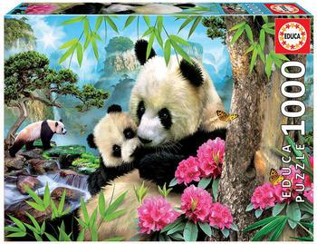 Educa Borrás 1000 Morning panda