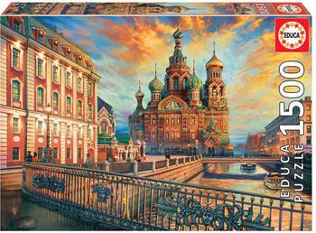 Educa Borrás Saint Petersburg 1500 pcs. (1850)
