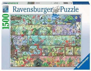 Ravensburger Zwerge im Regal (1500 Teile)