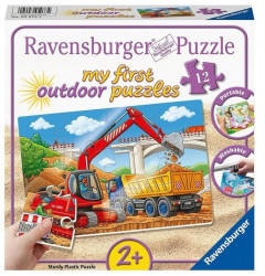 Ravensburger My First outdoor Puzzles - Meine Baustelle 12 Teile - 05073