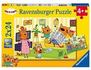 Ravensburger 2 Puzzles - Kid e Cats 24 Teile - 05080