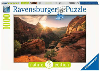 Ravensburger Nature Edition Zion Canyon 1000 Teile