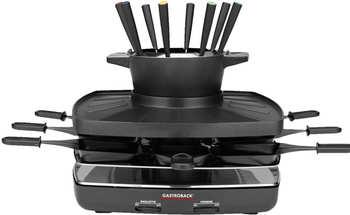 Gastroback Familiy and Friends Raclette & Fondue Set