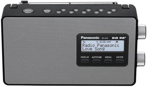 Panasonic RF-D10 schwarz