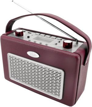 Soundmaster TR-50USB bordeaux