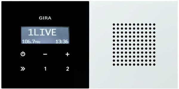 Gira Unterputz-Radio RDS (2280112)