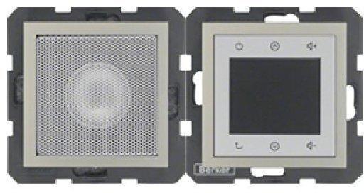 Berker Radio Touch mit Lautsprecher B.7 Edelstahl lackiert (28808916)