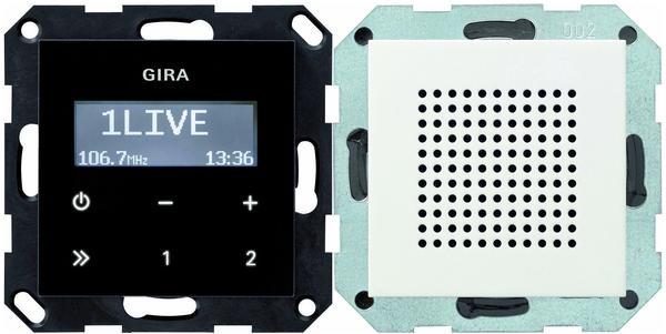 Gira Unterputz-Radio RDS reinweiß matt (228027)