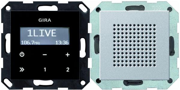 Gira Unterputz-Radio RDS System 55 Aluminium (228026)