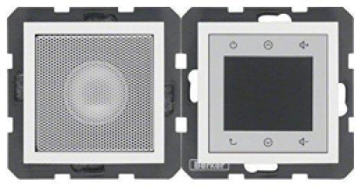 Berker Radio Touch mit Lautsprecher S.1/B.3/B.7 polarweiß matt (28809909)