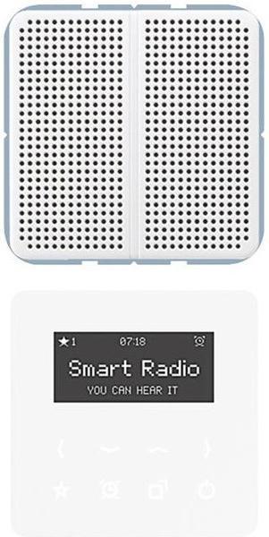Jung Serie CD Smart Radio - Set Mono (RAD CD 518)