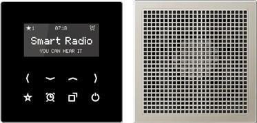 Jung Smart Radio DAB+ Bluetooth, Set Mono DAB CD1 BT WW