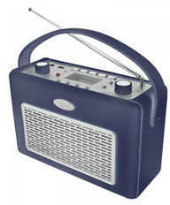 Soundmaster TR-50USB blau