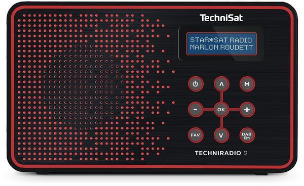 TechniSat TechniRadio 2 schwarz/rot