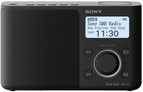 Sony XDR-S61D schwarz